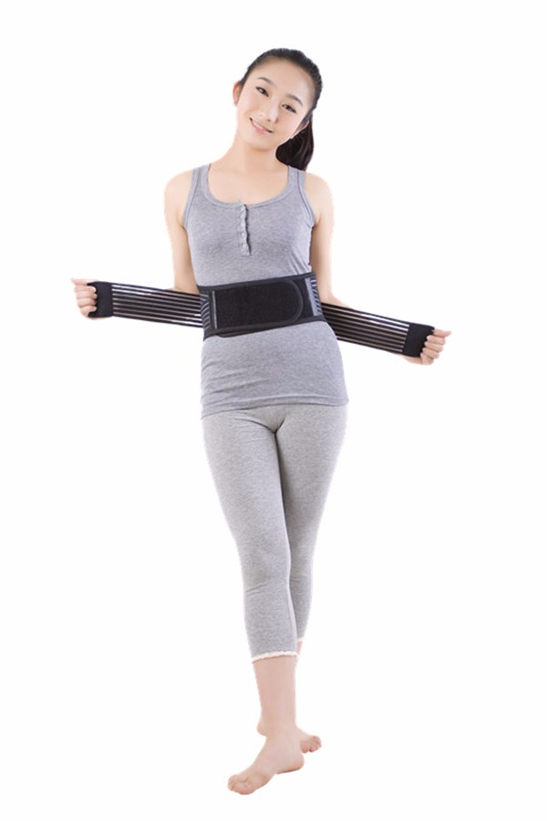 2017 Adjustable Tourmaline Self-heating Therapy Waist back magnetic belt