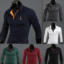 2017 Summer Men's Fashion Short Sleeved POLO Shirt Multiple Colors
