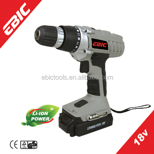 2014 New Products of Two Speeds Li-ion Battery Power <strong>Max</strong> 18V Cordless Drill