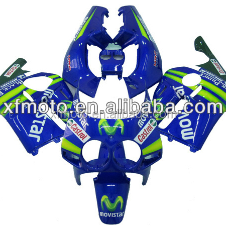 TCMT XF-4009-02 Injection Mold ABS Plastic Fairing Kit Fit For Honda CBR250R MC19 1988 1989 2A