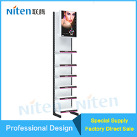 Cheap High Quality Single Lamp Box Iron Display Racks Stands Holder
