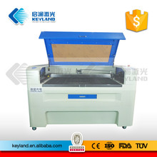 China KEYLAND 1390 / 1612 Double Head Leather Laser Cutting Machine Price Good