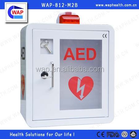 Trade Assurance WAP-health indoor use customized IP56 level aed mounted cabinet