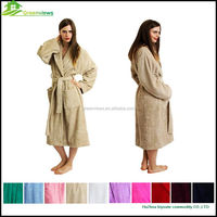 Robe family bath robes soft coral fleece terry printing bathrobes adults and children robe manufacturer of bathrobe