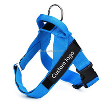 Custom Heavy Duty Adjustable & Durable Dog Training and Walking No Pull Harness With Handle