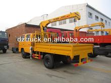 China manufacturer JMC 4*2 truck mounted telescopic crane