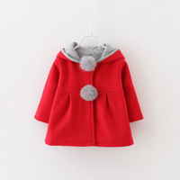 Fall clothes for girls boutique clothing winter coat baby 2018 fur coats baby girl coat infant snowsuit