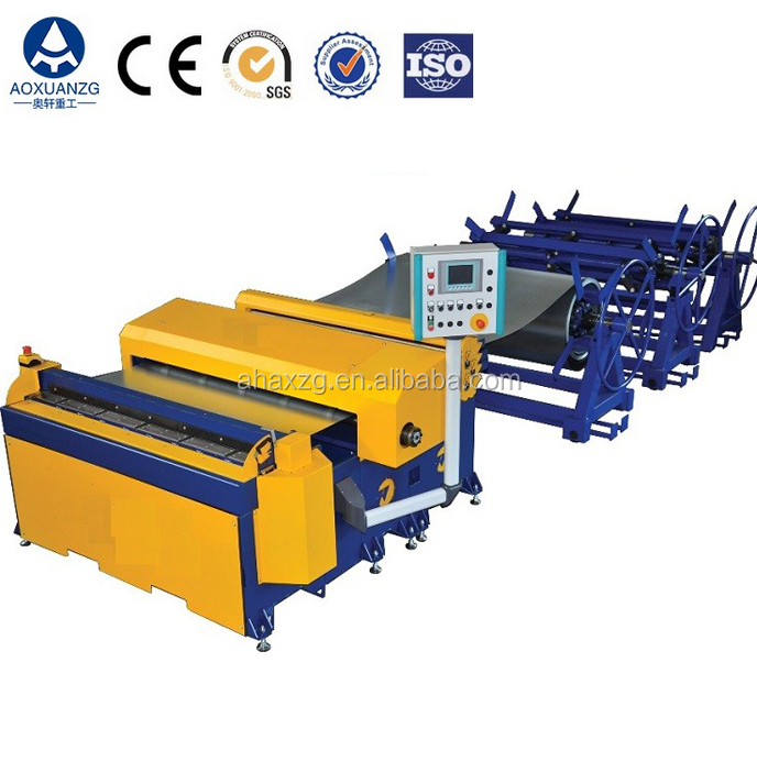 Auto duct manufacturing line 3, square duct manufacturing equipment