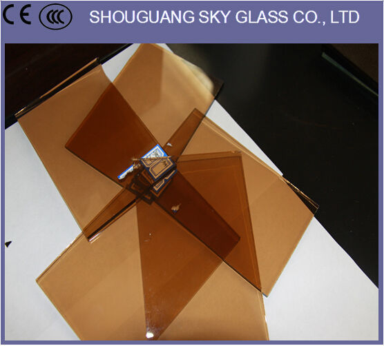 4mm-12mm Brown, Grey, Green, Black, Blue Colors Tinted Glass For Windows, Tinted Glass Price