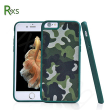 China Supplier High Quality Cell Phone PC + TPU Hybrid Battle Phone Cover Camouflage Case for iPhone7