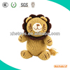 Custom handmade knitted toy lion ,crochet toy Lion