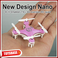 4CM Cheerson 4CH UFO 3D Rotating Micro 2.4G 6-Axis RC Mini Quadcopter CX-10 toy electronic flying saucer