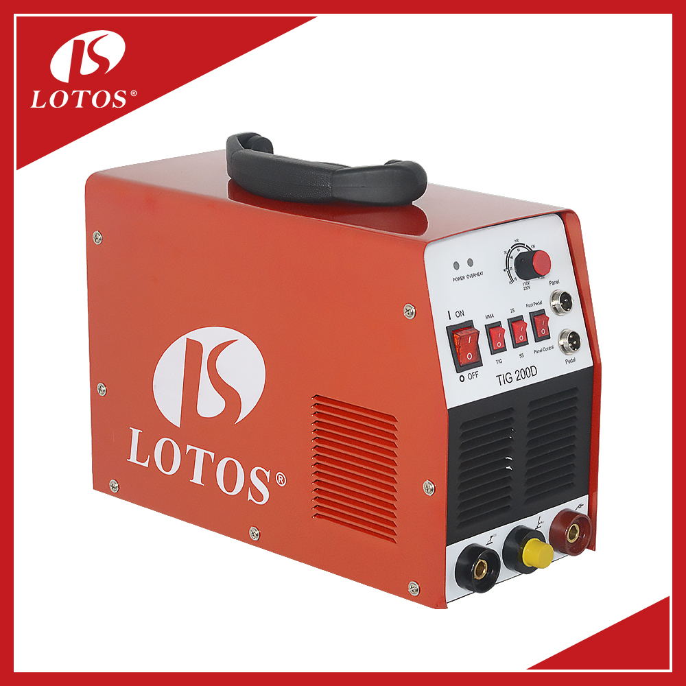 Lotos TIG200D mini dc tig welder