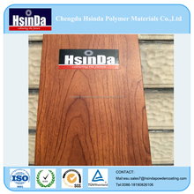 Wood Grain effect Transfer powder aluminium profile Powder Coating spray paint