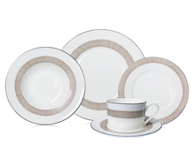 Home & Garden 20pcs Modern Style Bone China Dinner Set