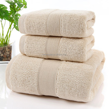 Low Price 100% Cotton Hotel Hand/Face Towels Hotel Satin Bath Towels