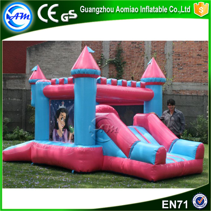 New design outdoor giant inflatable princess bouncy castle with CE certification