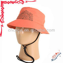 Funny kids plain bucket hats