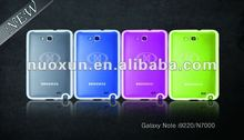 PC+TPU cases for samsung Galaxy Note /I9200/N7000