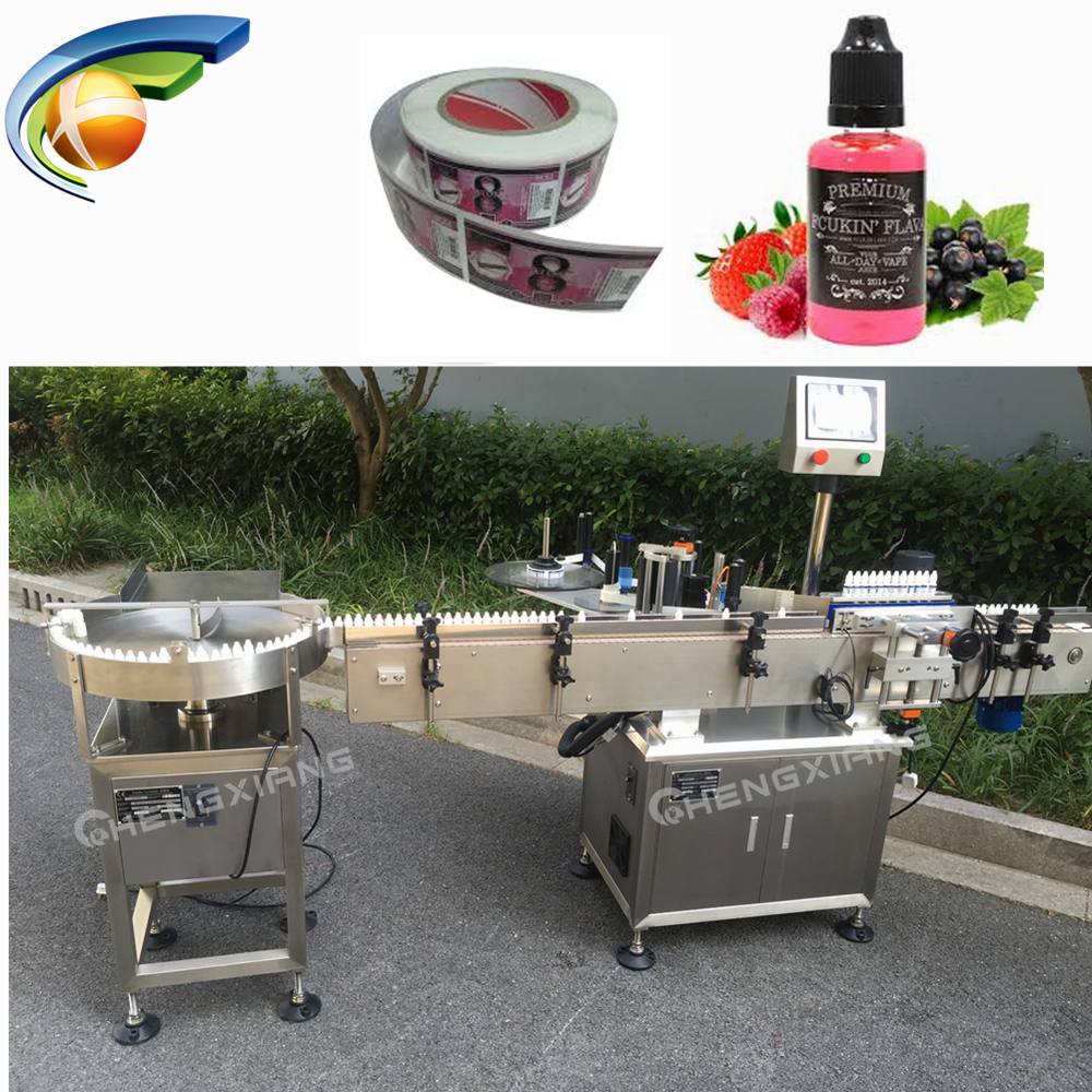 Beautiful design self adhesive labelling machine,full auto eliquid bottle labelling machine