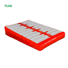 Gymnastics equipment inflatable triangle tumbling gymnastics mat incline wedge ramp for sale