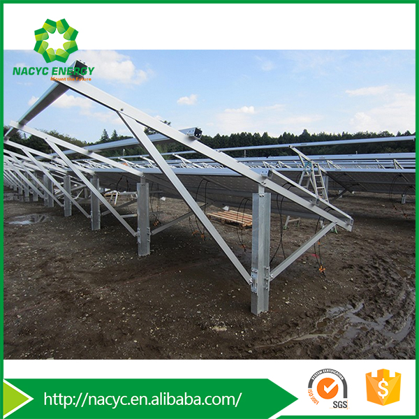 Panel Solar Ground Mounting System for Solar Energy Systems