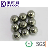 DECOK STEEL BALL FACTORY 0.35mm to 200mm carbon steel & chrome steel & stainless steel material bulk steel balls for bearing