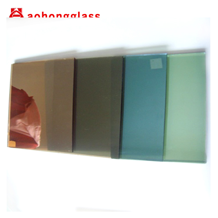 4mm 5mm 5.5mm 6mm Reflective Colored Glass Sheets