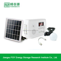 Off grid Portable Mini 15 W Solar Power System,Green energy portable solar power system for homes