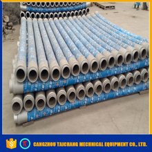 Hot sale 3m abrasion resistant concrete rubber hose with double flange joint wholesale online