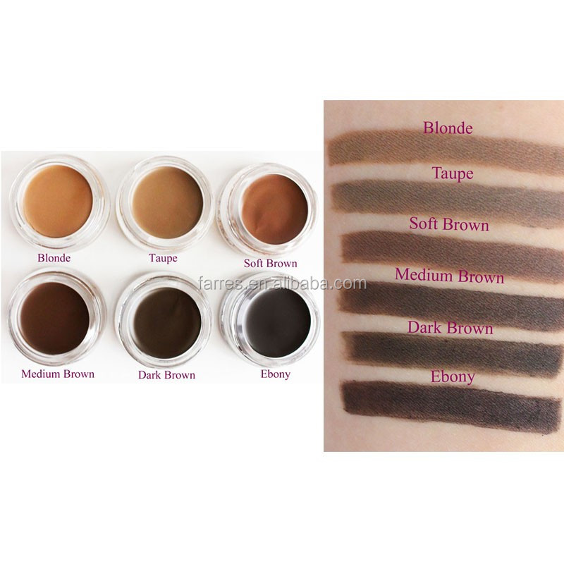 Brand in stock for wholesale waterproof makeup eyebrow gel