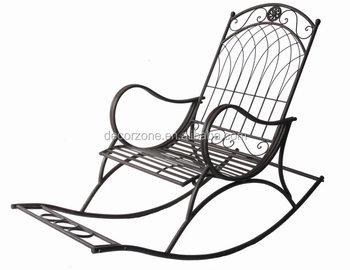Inexpensive antique metal garden rocking chairs buy - Rocking chair de jardin ...