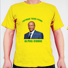 Campaign election photo print 100%cotton t-shirt