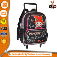 2016 New Style Latest Designs Superior Quality Children School Trolley Bags