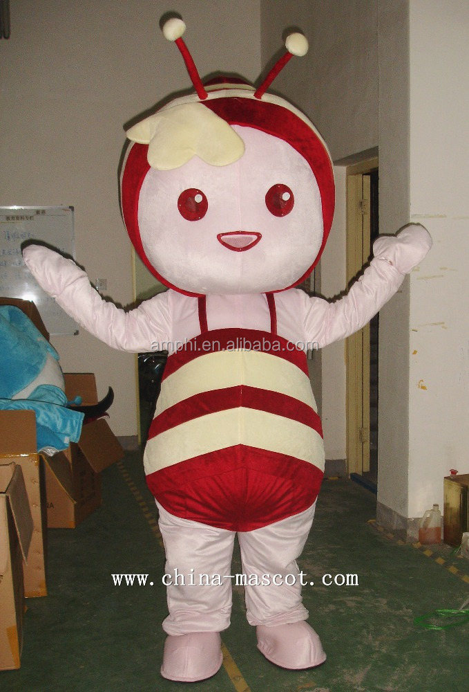 Big Eyes Honey Bee costume adult cartoon character mascotte bee carnival costume