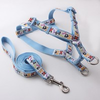 Best Hot sex women with dog pet harness Nylon XXS Dog harness with Soft Plastic Buckle
