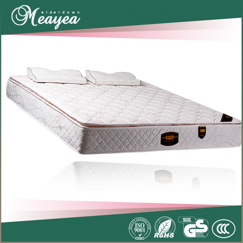 Comfortable sleepwell single latex memory foam mattress wholesale