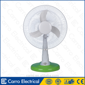 "Modern design 12v 16"" battery operated cool air fan"