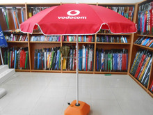 vodacom beach umbrella promotional parasol sunshade outdoor umbrella