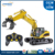 rc construction toy 16CH RC alloy grab wood machine