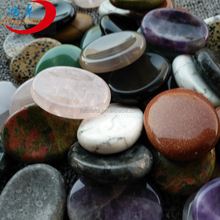 natural semi-previous mixed gemstones worry stones jade stones for sale