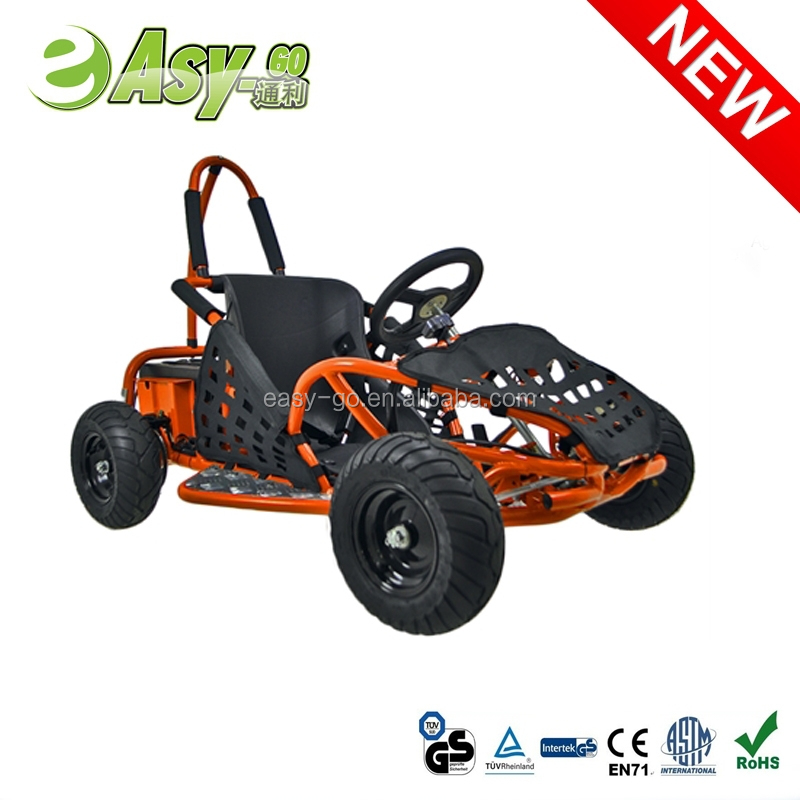 Hot selling 1000w 48V/12ah 250cc racing go kart with double suspension past CE certificate