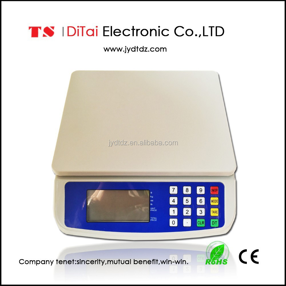 DT580 30kg/1g Promotional digital price <strong>scale</strong> weighing <strong>scale</strong> tcs electronic platform <strong>scale</strong>