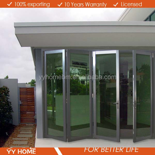 YY Home Superb quality iron folding door