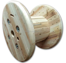 Indonesia market empty large wooden cable spools for sale