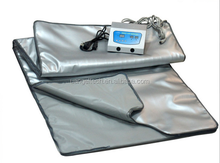 228 2 Zones thermal slimming infrared hot sauna blanket infrared body wrap machine