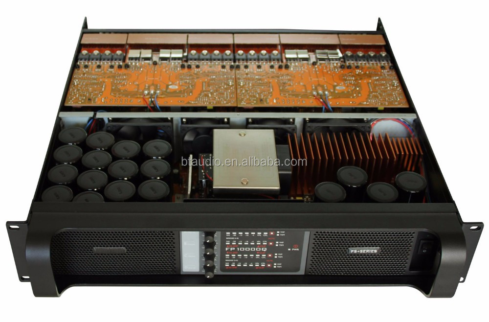 FP10000q 2U hot sound most professional Class TD power amplifier