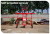 Farm and fruit garden usage gasoline power sprayer