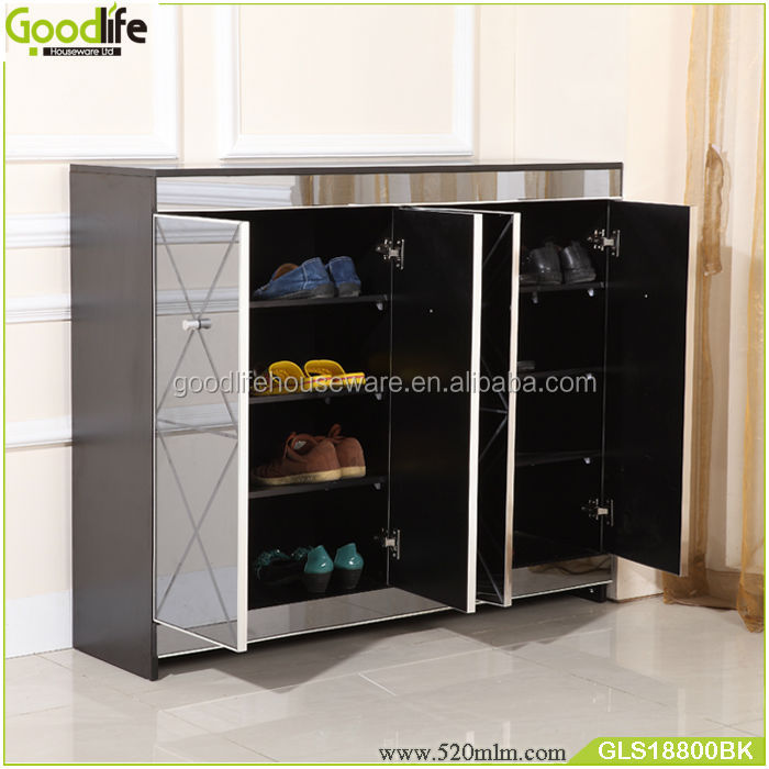 Home furniture corner storage shoe cabinet modern entryway furniture