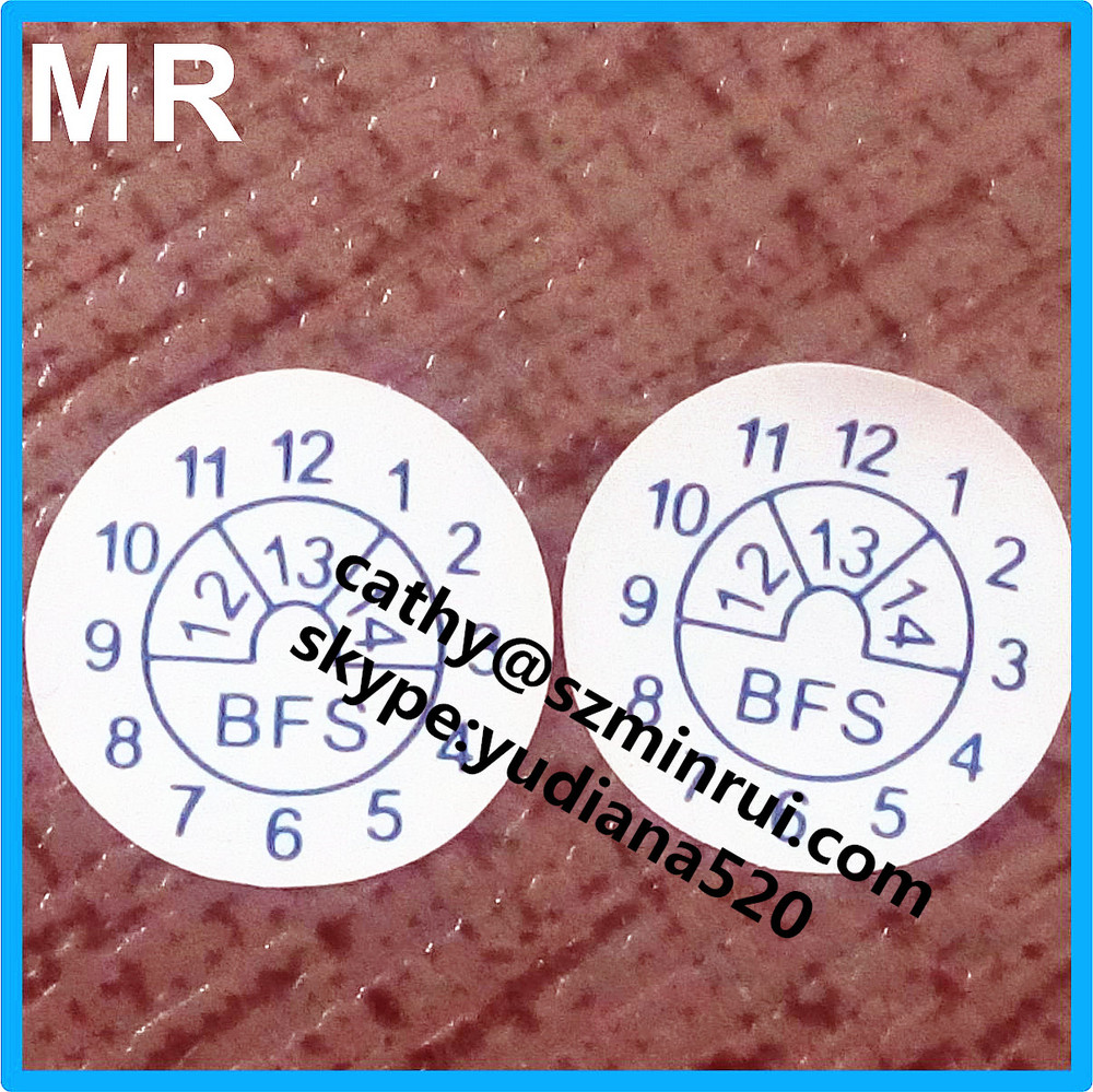 Adhesive sticker type and custom design mini warranty period labels,guarantee labels usage warranty period labels